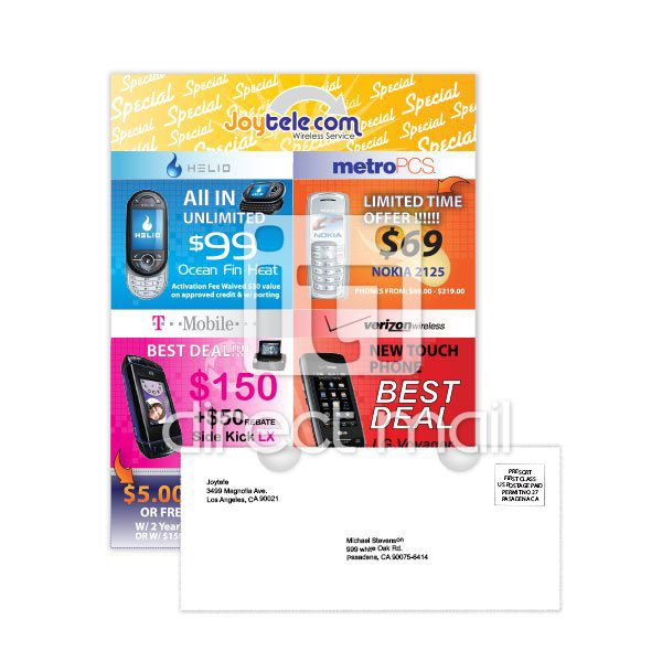 Run Poster Baik Short Run Digital Brochure Printing with Direct Mail Iti Direct Mail