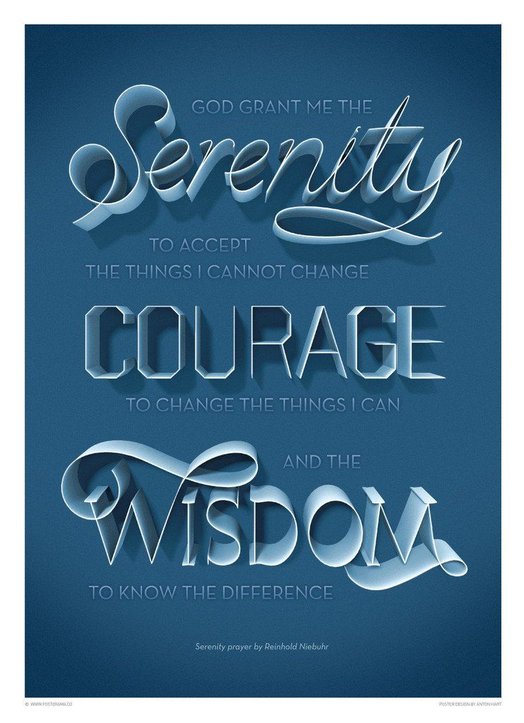 graphic design posters for sale top 10 serenity prayer typography posters for sale