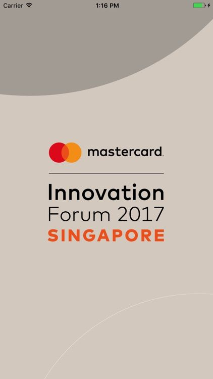 Singapore Poster Meletup Mastercard Innovation forum 17 by Tapcrowd Nv