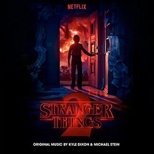 music cd stranger things 2 soundtrack from the netflix original series