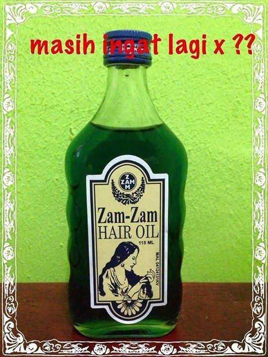 kenangan zam zam hair oil