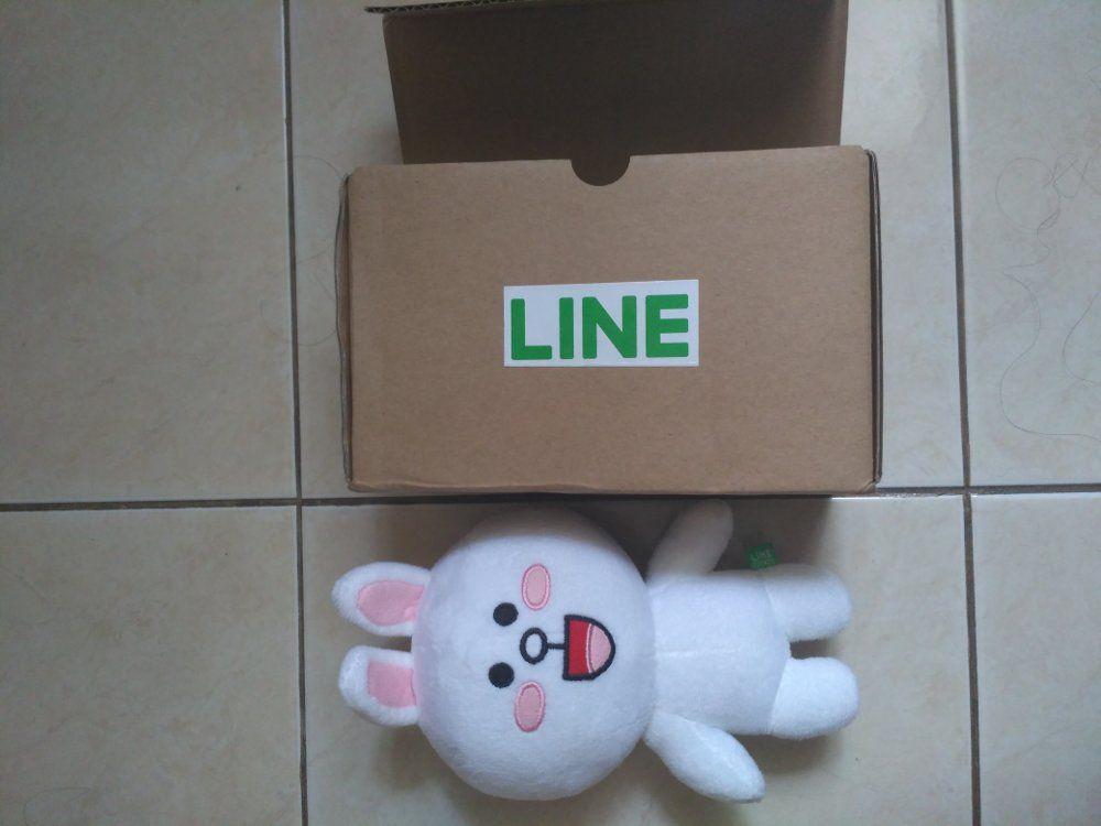 cony plush doll line original 18 cm