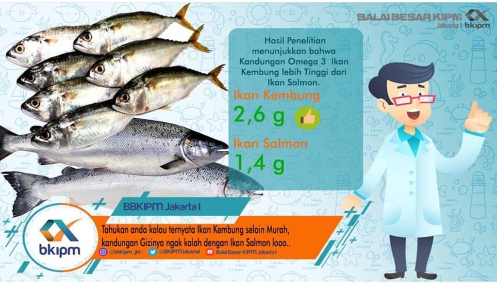 ikan kembung selain murah kandungan gizinya seperti ikan salmon