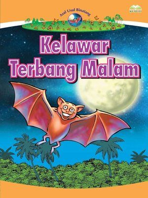 cover image of kelawar terbang malam