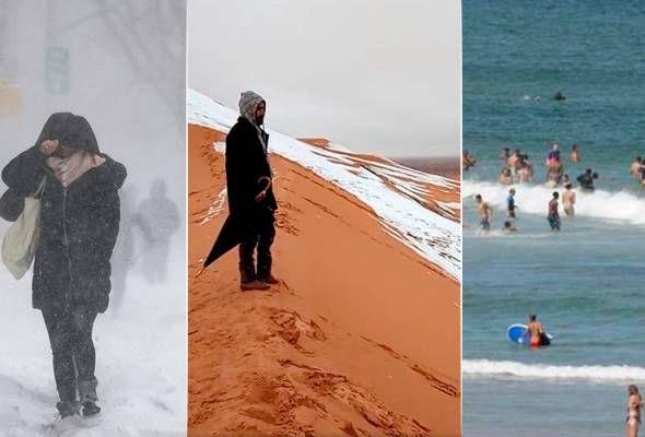 Gambar Kelawar Ladam Semenanjung Menarik Kompilasi Ekstrem Cuaca Dunia Semakin Aneh Dan Tidak Menentu