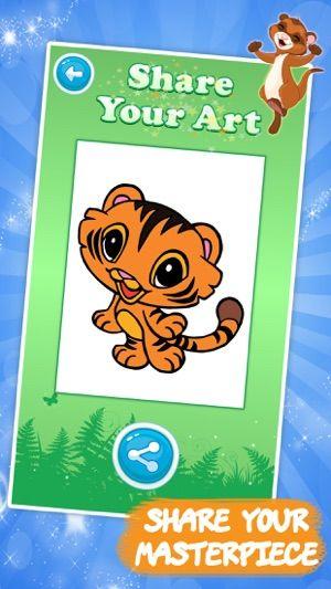 buku mewarna kanak haiwan di app store