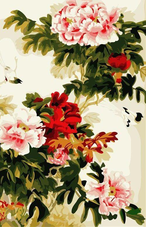 Gambar Mewarna Burung Kenari Power A Frameless Wall Art Gambar Tangan Minyak Diy Lukisan Dengan Nomor