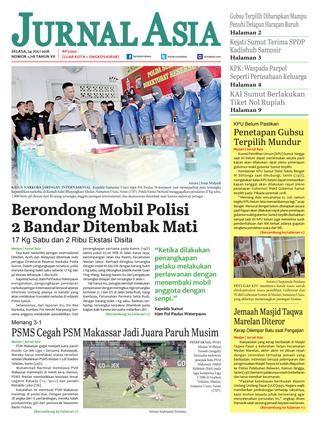 Gambar Mewarna Cencurut Terkecil Terbaik Harian Jurnal asia Edisi Selasa 24 Juli 2018 by Harian Jurnal asia