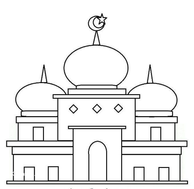 Gambar Mewarna Kelawar Muka Lekok Bernilai Download Bermacam Contoh Gambar Mewarna Masjid Yang Awesome Dan
