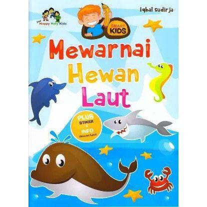Gambar Mewarna Kuda Laut Bernilai Mewarnai Hewan Super Lucu Shopee Indonesia