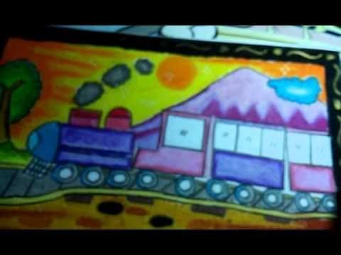 gambar mewarna kereta api baik gambar ran ku kereta api gambar dan mewarnaid youtube