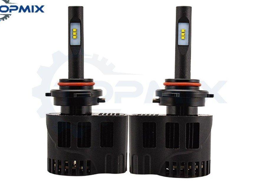 p6 50 w 6400lm 9005 h10 hb3 styling mobil led headlight 4000 k 6000 k led auto fog mengemudi kit konversi cahaya 12 24 v