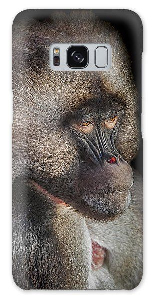 gelada baboon galaxy case the old warrior by paul neville