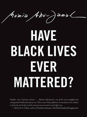 cover image of have black lives ever mattered