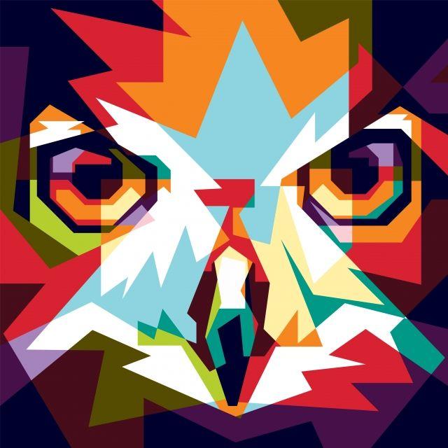 Unduh 57+  Gambar Burung Hantu Berwarna  Paling Bagus