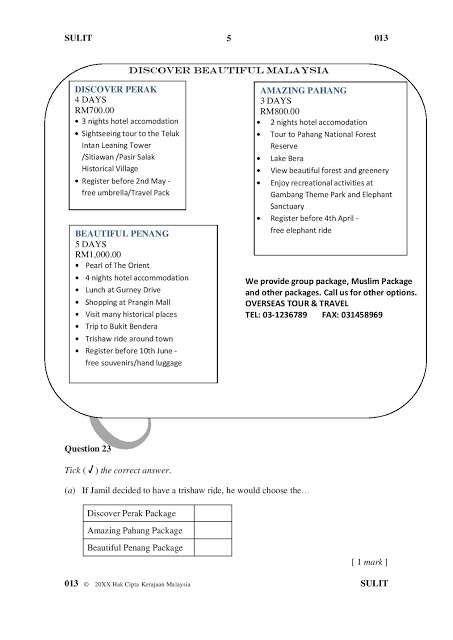 Poster Burung Kelicap Power format Terkini Dan Contoh soalan Upsr Mengikut Setiap Subjek Qa A