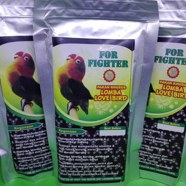 pakan burung makanan burung pakan khusus kenari love bird lomba dan harian shopee indonesia
