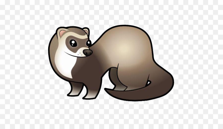 kisspng black footed ferret dog cartoon clip art ferret 5abb3cb38551e4 7047807115222202115461 jpg
