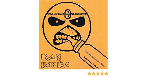 Poster Ikan Talapia Terbaik Iron Babies 16 Iron Maiden songs for Babies by Gustavo Zavala On
