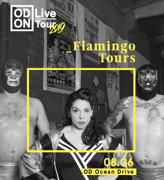 Poster Itik Meletup Od Live Od On tour W Flamingo tours