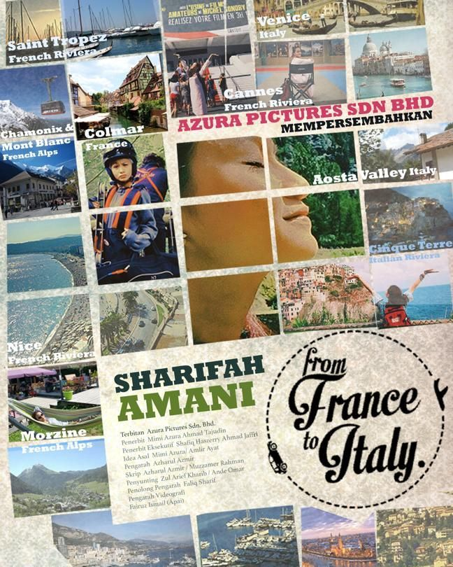 poster from france to italy