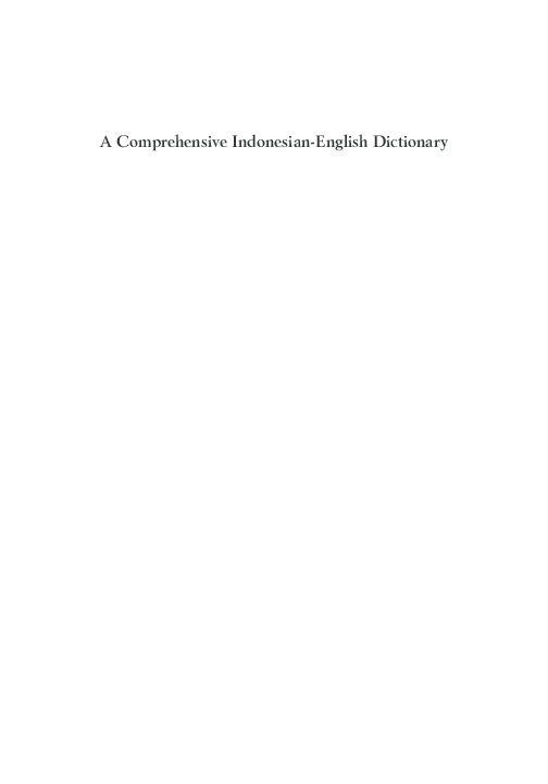 Poster Kelawar Kaki Besar Kelabu Bermanfaat Pdf A Comprehensive Indonesian English Dictionary Septiana Ws