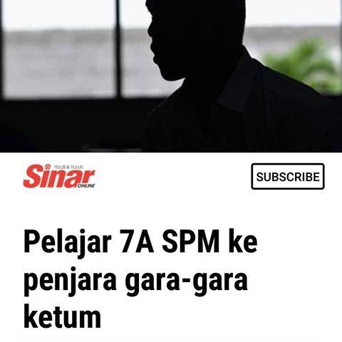 marang mencapai keputusan 7a dalam sijil pelajaran malaysia spm sepatutnya telah melayakkan