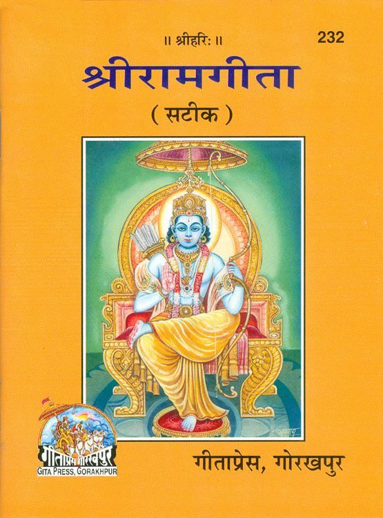 sri ram gita in hindi with sanskrit slokas paperback