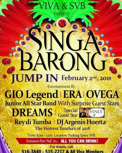 Poster Singa Hebat Singa Barong Jump In Curaa Ao Party Guide