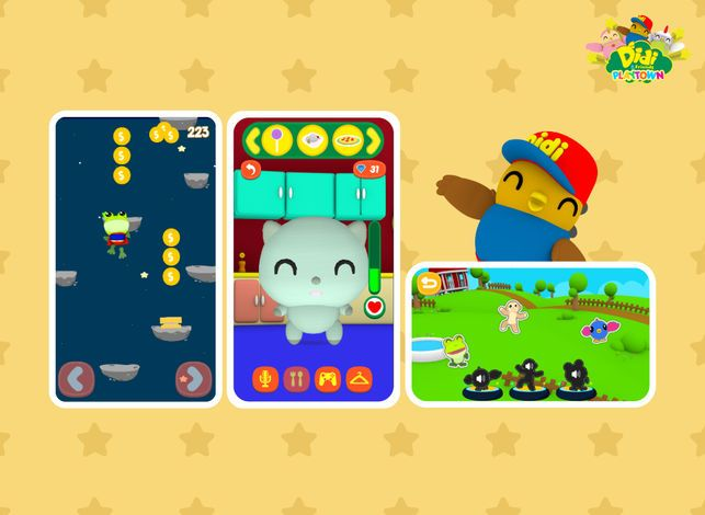 didi friends playtown on the app store