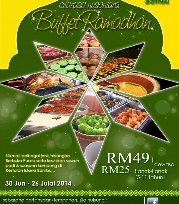 Poster sotong Kurita Baik Ramadan 2014 Senarai 20 Lokasi Buffet Ramadhan Murah Bawah Rm70 Di
