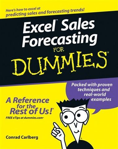 excel sales forecasting for dummies book by conrad carlberg paperback chapters indigo ca
